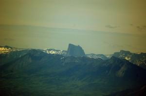 Mont Aiguille from Habert de Chamechaude